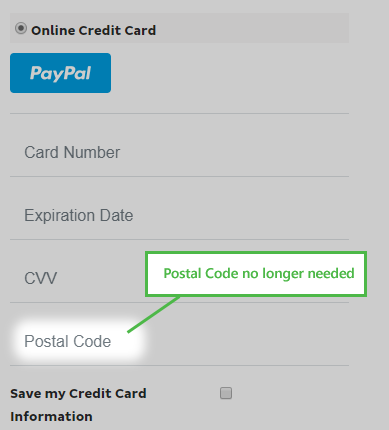How do I enable Credit Cards and Paypal (Powered By