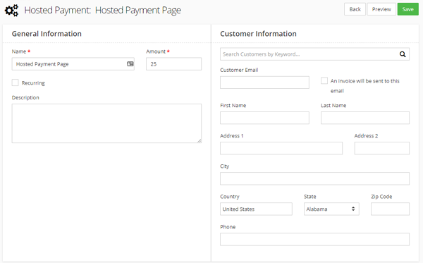 How do I set up a Hosted Payment Page?