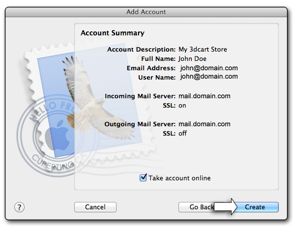 MacMail Secure Email Setup