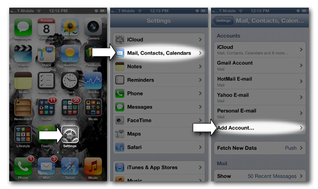 iPhone Secure Email Setup